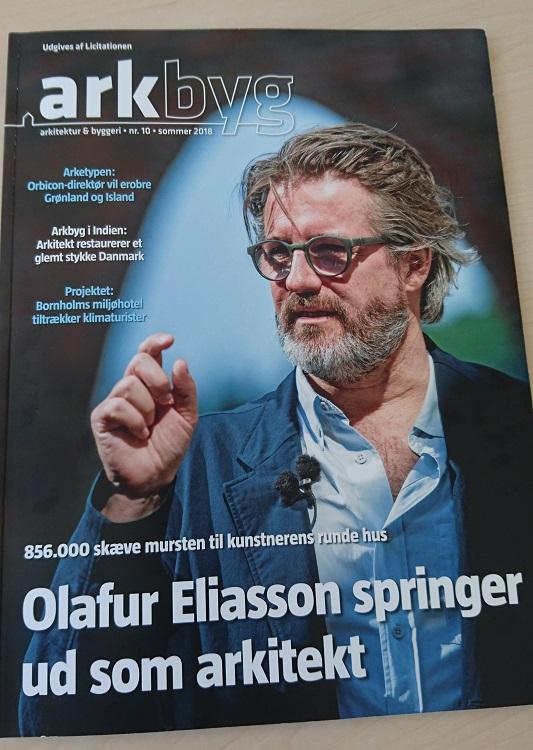 arkbyg Olafur Eliasson artikel af Anne Kathrine S. Rosener