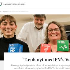Artikel Om Verdensmål I Landsbyggefonden